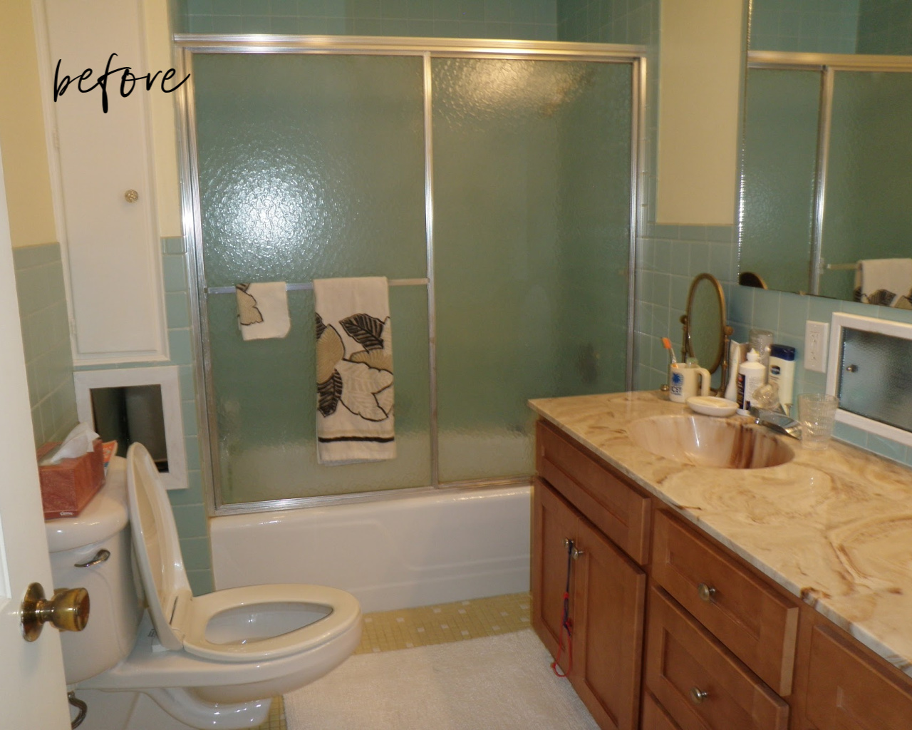 Bathroom Staging Before And After Gina Paris Design